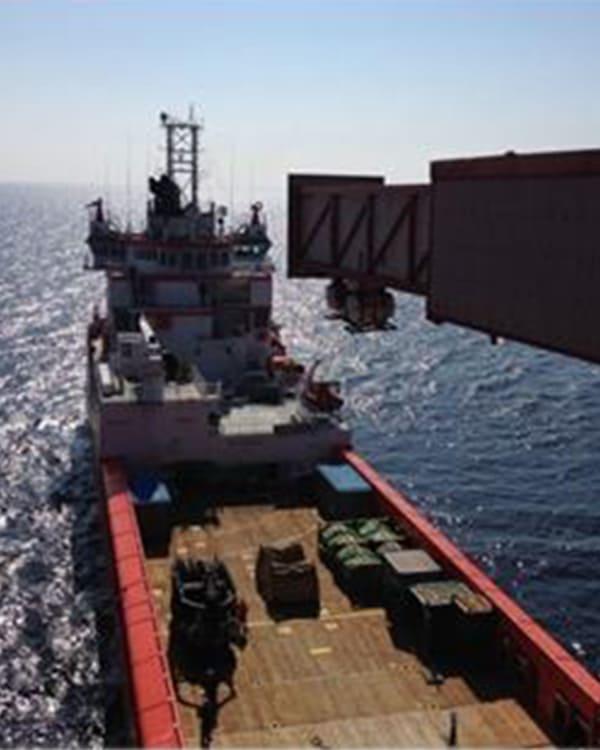 Offshore Escape Chute
